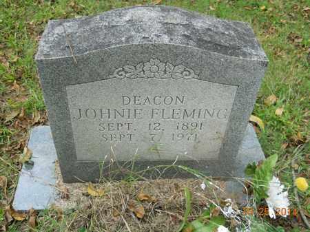 FLEMING, JOHNIE - Lafayette County, Arkansas | JOHNIE FLEMING - Arkansas Gravestone Photos