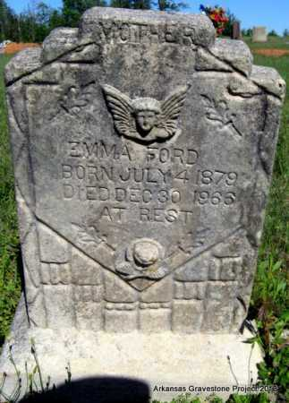 FORD, EMMA C - Lafayette County, Arkansas   EMMA C FORD - Arkansas Gravestone Photos