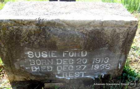 FORD, SUSIE - Lafayette County, Arkansas   SUSIE FORD - Arkansas Gravestone Photos