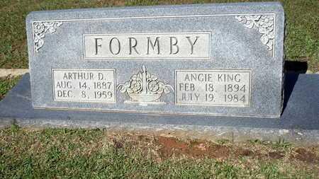 FORMBY, ARTHUR D - Lafayette County, Arkansas | ARTHUR D FORMBY - Arkansas Gravestone Photos