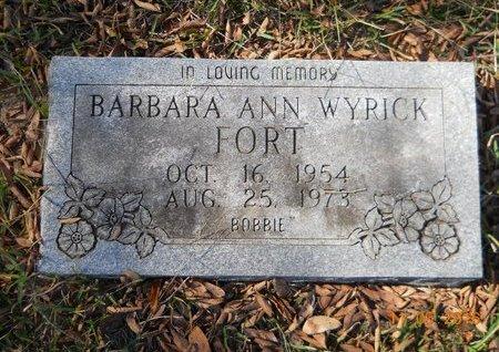 "FORT, BARBARA ANN ""BOBBIE"" - Lafayette County, Arkansas   BARBARA ANN ""BOBBIE"" FORT - Arkansas Gravestone Photos"