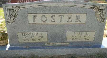 FOSTER, MARY A - Lafayette County, Arkansas | MARY A FOSTER - Arkansas Gravestone Photos
