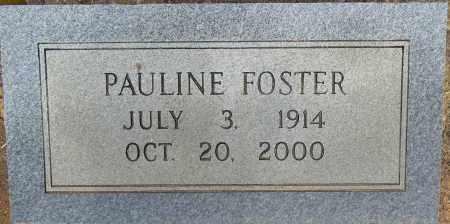 FOSTER, PAULINE - Lafayette County, Arkansas | PAULINE FOSTER - Arkansas Gravestone Photos
