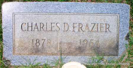 FRAZIER, CHARLES D - Lafayette County, Arkansas   CHARLES D FRAZIER - Arkansas Gravestone Photos