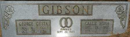 GIBSON, CALLIE NONA - Lafayette County, Arkansas   CALLIE NONA GIBSON - Arkansas Gravestone Photos