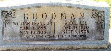 GOODMAN, ADDIE - Lafayette County, Arkansas | ADDIE GOODMAN - Arkansas Gravestone Photos