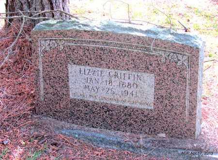 GRFFIN, LIZZIE - Lafayette County, Arkansas   LIZZIE GRFFIN - Arkansas Gravestone Photos