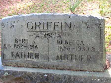 GRIFFIN, REBECCA I - Lafayette County, Arkansas   REBECCA I GRIFFIN - Arkansas Gravestone Photos
