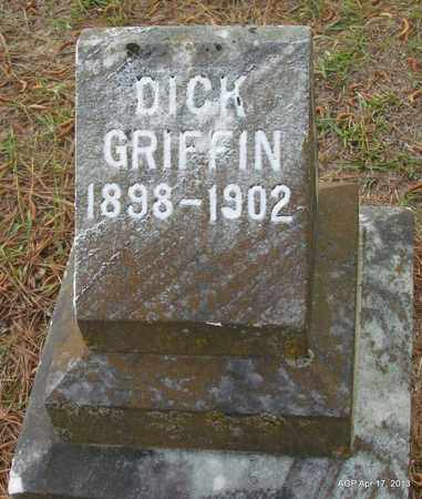 GRIFFIN, DICK - Lafayette County, Arkansas   DICK GRIFFIN - Arkansas Gravestone Photos