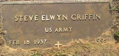 GRIFFIN (VETERAN), STEVE ELWYN - Lafayette County, Arkansas   STEVE ELWYN GRIFFIN (VETERAN) - Arkansas Gravestone Photos