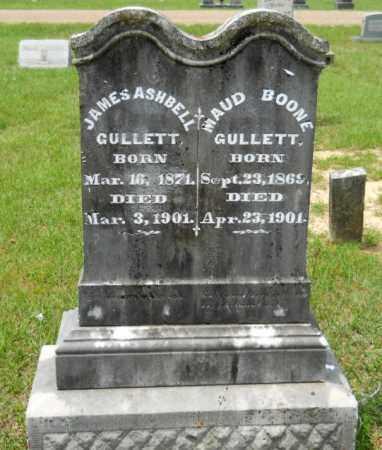 BOONE GULLETT, MAUD - Lafayette County, Arkansas   MAUD BOONE GULLETT - Arkansas Gravestone Photos