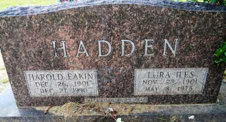 HADDEN, HAROLD EAKIN - Lafayette County, Arkansas | HAROLD EAKIN HADDEN - Arkansas Gravestone Photos