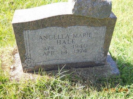 HALE, ANGELLA MARIE - Lafayette County, Arkansas   ANGELLA MARIE HALE - Arkansas Gravestone Photos