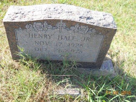 HALE, JR, HENRY - Lafayette County, Arkansas   HENRY HALE, JR - Arkansas Gravestone Photos