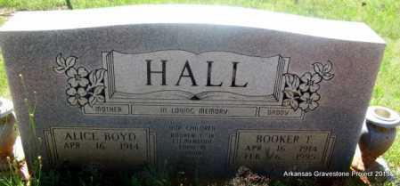 HALL, BOOKER T - Lafayette County, Arkansas | BOOKER T HALL - Arkansas Gravestone Photos