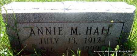 HALL, ANNIE MAY - Lafayette County, Arkansas   ANNIE MAY HALL - Arkansas Gravestone Photos