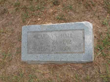 HALL, CAROLYN - Lafayette County, Arkansas | CAROLYN HALL - Arkansas Gravestone Photos