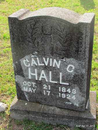 HALL, CALVIN C - Lafayette County, Arkansas | CALVIN C HALL - Arkansas Gravestone Photos