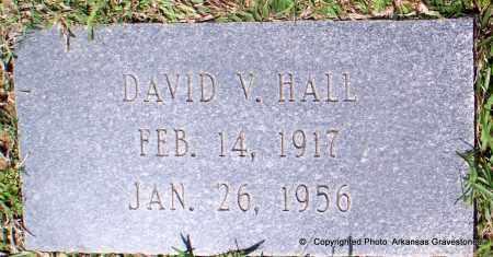 HALL, DAVID V - Lafayette County, Arkansas   DAVID V HALL - Arkansas Gravestone Photos