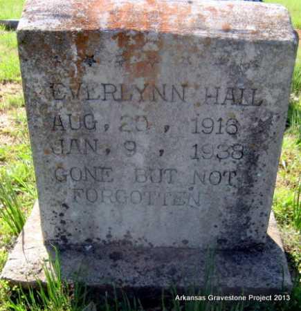 HALL, EVERLYNN - Lafayette County, Arkansas   EVERLYNN HALL - Arkansas Gravestone Photos