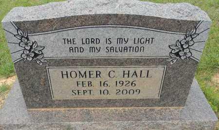 HALL, HOMER C - Lafayette County, Arkansas   HOMER C HALL - Arkansas Gravestone Photos