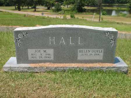 HALL, JOE M - Lafayette County, Arkansas   JOE M HALL - Arkansas Gravestone Photos