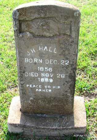 HALL, J H - Lafayette County, Arkansas | J H HALL - Arkansas Gravestone Photos