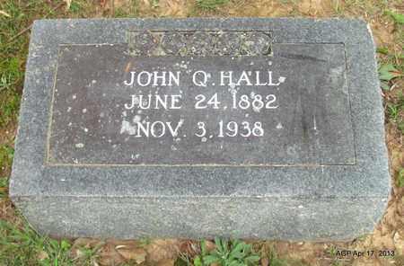HALL, JOHN Q - Lafayette County, Arkansas | JOHN Q HALL - Arkansas Gravestone Photos