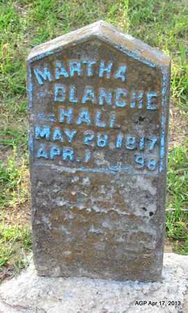 HALL, MARTHA BLANCHE - Lafayette County, Arkansas | MARTHA BLANCHE HALL - Arkansas Gravestone Photos