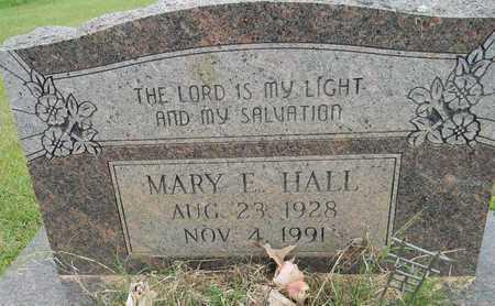 HALL, MARY E - Lafayette County, Arkansas | MARY E HALL - Arkansas Gravestone Photos