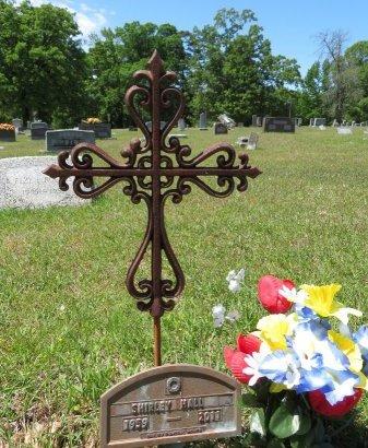HALL, SHIRLEY - Lafayette County, Arkansas | SHIRLEY HALL - Arkansas Gravestone Photos