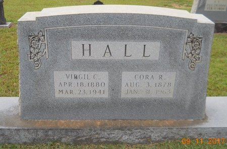 HALL, VIRGIL C - Lafayette County, Arkansas | VIRGIL C HALL - Arkansas Gravestone Photos