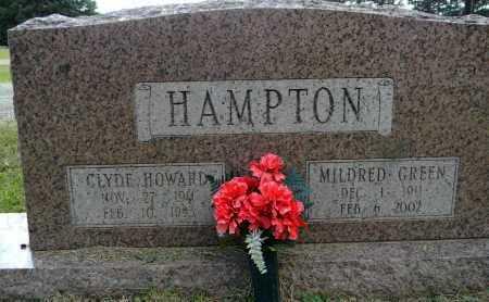 GREEN HAMPTON, MILDRED - Lafayette County, Arkansas | MILDRED GREEN HAMPTON - Arkansas Gravestone Photos