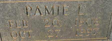 HAMPTON, PAMIE L (CLOSEUP) - Lafayette County, Arkansas   PAMIE L (CLOSEUP) HAMPTON - Arkansas Gravestone Photos