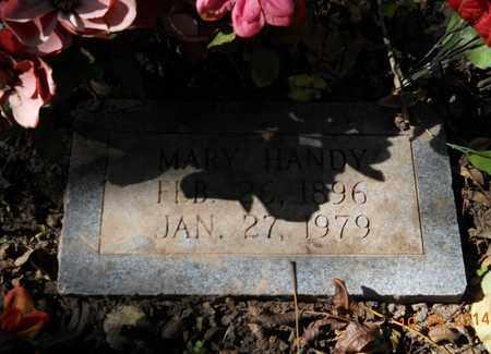 ROBERSON HANDY, MARY - Lafayette County, Arkansas | MARY ROBERSON HANDY - Arkansas Gravestone Photos