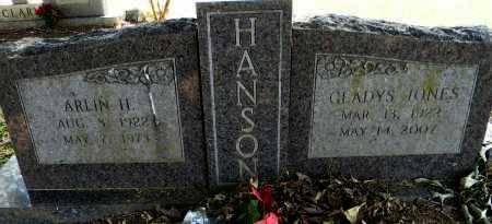 HANSON, GLADYS - Lafayette County, Arkansas | GLADYS HANSON - Arkansas Gravestone Photos