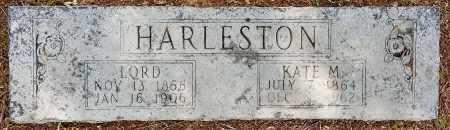 MATTHEWS HARLESTON, KATE - Lafayette County, Arkansas   KATE MATTHEWS HARLESTON - Arkansas Gravestone Photos