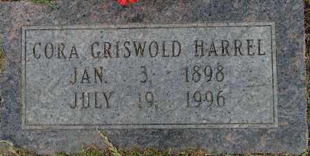 GRISWOLD HARREL, CORA - Lafayette County, Arkansas | CORA GRISWOLD HARREL - Arkansas Gravestone Photos