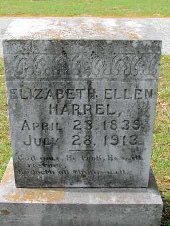 HARREL, ELIZABETH ELLEN - Lafayette County, Arkansas | ELIZABETH ELLEN HARREL - Arkansas Gravestone Photos
