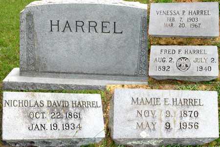 HARREL, NICHOLAS DAVID - Lafayette County, Arkansas   NICHOLAS DAVID HARREL - Arkansas Gravestone Photos