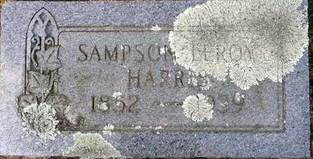 HARRIS, SAMPSON LEROY - Lafayette County, Arkansas   SAMPSON LEROY HARRIS - Arkansas Gravestone Photos