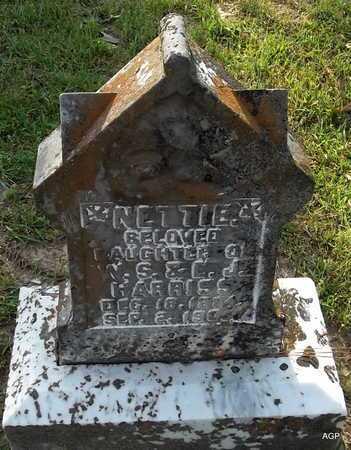 HARRISS, NETTIE - Lafayette County, Arkansas   NETTIE HARRISS - Arkansas Gravestone Photos