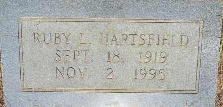 HARTSFIELD, RUBY L - Lafayette County, Arkansas   RUBY L HARTSFIELD - Arkansas Gravestone Photos