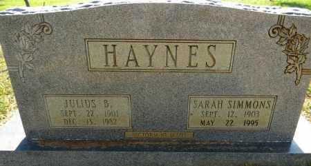 HAYNES, SARAH - Lafayette County, Arkansas | SARAH HAYNES - Arkansas Gravestone Photos