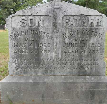 HAYTON, RALPH - Lafayette County, Arkansas | RALPH HAYTON - Arkansas Gravestone Photos