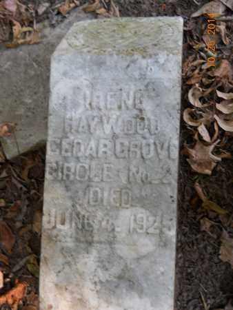 HAYWOOD, IRENE - Lafayette County, Arkansas | IRENE HAYWOOD - Arkansas Gravestone Photos