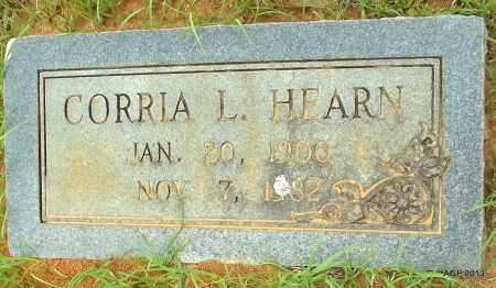 HEARN, CORRIA L - Lafayette County, Arkansas   CORRIA L HEARN - Arkansas Gravestone Photos