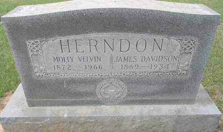 HERNDON, MOLLY VELVIN - Lafayette County, Arkansas | MOLLY VELVIN HERNDON - Arkansas Gravestone Photos