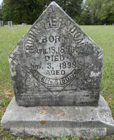 HERNDON, ROBIN - Lafayette County, Arkansas | ROBIN HERNDON - Arkansas Gravestone Photos