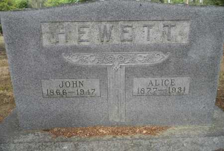 HEWETT, JOHN - Lafayette County, Arkansas | JOHN HEWETT - Arkansas Gravestone Photos